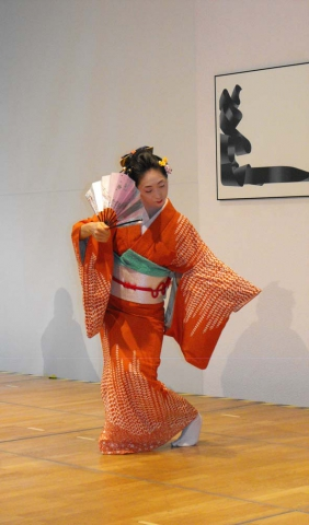 Lesung mit japanischem Tanz aus Bernhard Kellermann