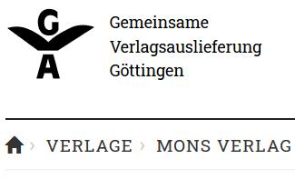 GVA Gemeinsame Verlagsauslieferung Göttingen GmbH & Co. KG