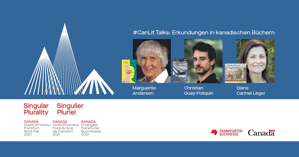 6. Mai 2021 um 19 Uhr: #CanLIit Talks Diane Carmel Léger